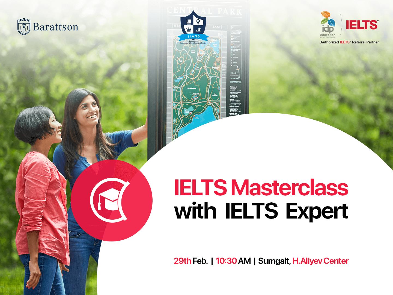 IELTS Masterclass with Foreign IELTS Expert
